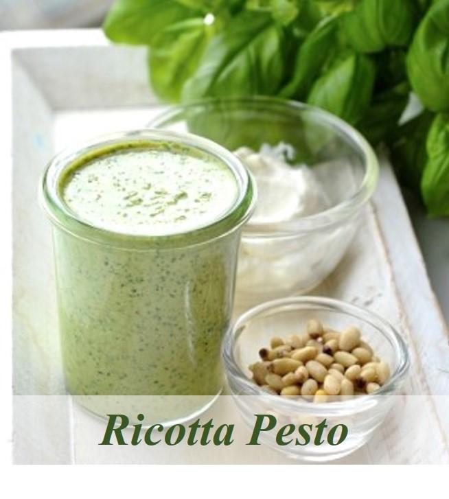 Ricotta Pesto