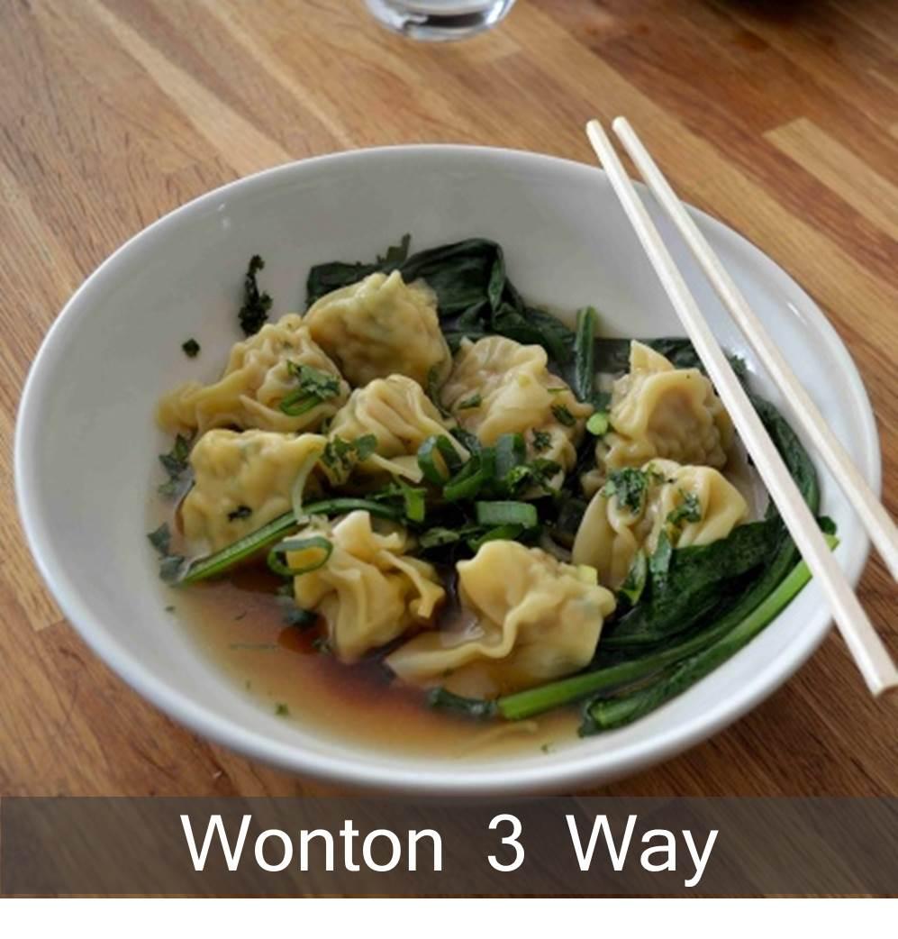 3 Way Wonton